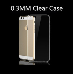 """For Apple Iphone 6 4.7"""" & Iphone 6 Plus Clear TPU Ultrathin Case"""