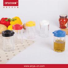 D539 Round shaped olive oil cruet kitchen oil containers oil and vinegar cruet sets
