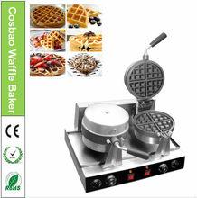 2 Plate Rotary Waffle Maker Machines