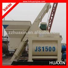 JS1500 Concrete Mixer, Concrete Mixing
