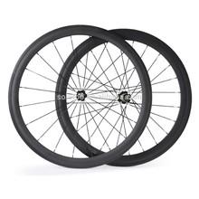 Gros vélo de route roues, T700 de carbone roue, 38 mm pneu roue de bicyclette