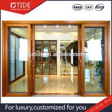 TIDE Aluminum & Wood Sliding Door Fashionable design originated in Italy