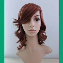 new products for 2014 women wear medium curly hair wigs wig jewish / kosher wigs