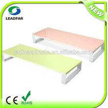 Simple design practical MDF desktop computer shelf