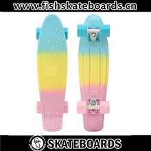 Penny Plastic Skateboard 22in Original Fades Pastel Fade Mint skate board