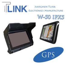 5 Inch Auto Tracker Waterproof IPX5 Car GPS Tracker 1500mAh Bluetooth FM Transmitter Multi Card SDHC TF Card USB 2.0 SDHC