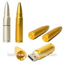 Unique Metal 16GB usb flash drive bullet