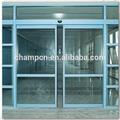 Hd002 de doble motor sensor automático de vidrio puerta corredera para el hospital y comercial