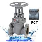 Gost Flange type cast steel gate valve 30c41nj rising stem