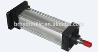Pneumatic lift cylinder, telescopic pneumatic door cylinder