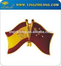 Metal National Flag Pin Badge/Different Metal Flag Collar Pin/ Nation Flags