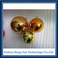 Suspensão açoinoxidável hollow bola de natal/metal bola decoaration para venda
