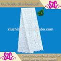 Lxe003 venta directa de la fábrica moda de la alta calidad pesado africano de la gasa del cordón
