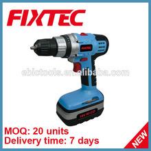 FIXTEC China Power Tool 10mm 18V NI-CD Cordless Drill