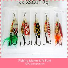 KK XS01T 7g New ice fishing lure china with hooks Chinese fishing tackle China fishing shop
