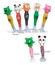 3d animal head cartoon ball pen
