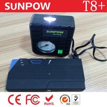 SUNPOW OEM best selling mini battery booster tire pump