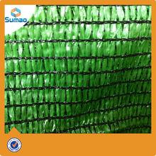 green agricultural sun shade net