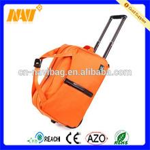 Multifunctional portable travel bag on wheels