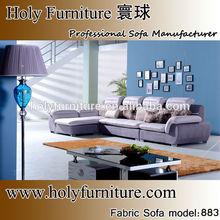 Home furniture simple purple sectional sofa 883