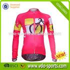 Womens Hot Sell Long Sleeve Cheap Custom Cycling Clothing
