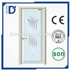 alibaba express china manufacturer interior/ exterior home used aluminium bathroom door