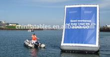 Best PVC advertising WATER BILLBOARD inflatable billboards