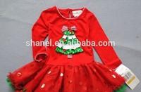 girls clothing kids clothes fashion chiristmas dress on sale