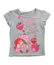New fashion toddler girls short t shirt,summer cotton girl tops