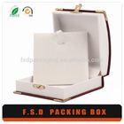 Hot sale promotional jewelry pendant box