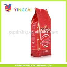 Guangzhou supplier standing aluminum foil coffee bag