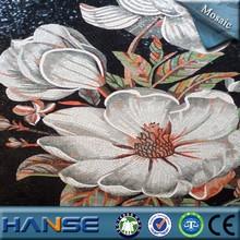 foshan low price silvering crystal mirror glass wall mosaic art