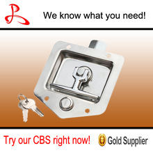 Aluminum Trailer Polished 304 Stainless steel Toolbox Latch