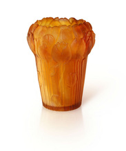 2014 new crystal glass tulip flower centerpiece vase --DTT012