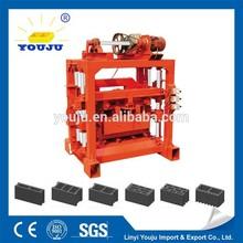 QTJ4-40B2 cement sand brick making machine for myanmar