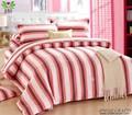 2014 nuovo prodotto di alta qualità striscia hotsale biancheria da letto in tessuto patchwork biancheria da letto ingrosso zz4010k per copriletto