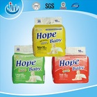 Hope baby style diapers production machine in bulk