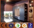 alto brilho uv moderna cozinha cabient 18mm porta mdf melamina carcass cozinha gabinete de madeira