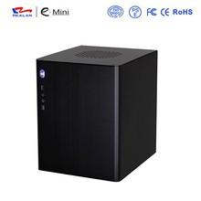 Realan High-quality aluminum case mini itx gaming desktop case E-D5