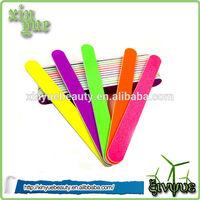 Double Side Type nail file Emery plastic foam abrasive paper nail file emery board nail file 180 grit