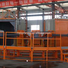 Carousel Rotomolding machine, rotational machine, plastic making machine