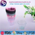 grau alimentício talheres de sobremesa copo colorido recipiente de plástico descartáveis e embalagens de alimentos