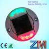 High brightness led solar road stud lights,dock pole light road marker/raised pavement marker;