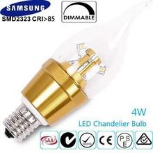 E12,E14,E17,E26,E27,B22,B15 Spot Light Candle Light Bent Tip LED Bulb