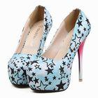 CATWALK-S106082-1 new coming high heels wholesale chona shoe factory fancy lady shoes woman shoes high heels pumps