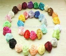 2015 Handmade Mini Rose Ribbon Flowers~ Headwear Decor