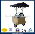 Crema de hielo de la carretilla/carrito para helado/carros para la crema de hielo