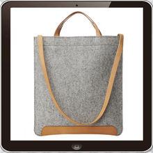 2015 new fashion 100% polyester Felt shopping tote bag