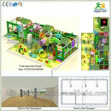 Free design CE & GS standard eco-friendly LLDPE kids indoor amusement equipment