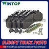 Truck Brake Pad Kit 1617343/1797053 for DAF